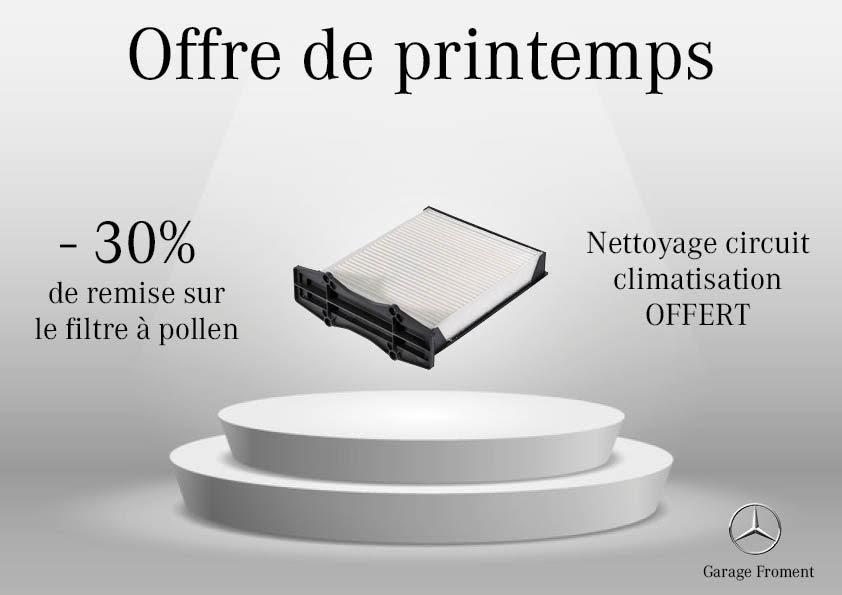 Offre de Printemps sur la Climatisation